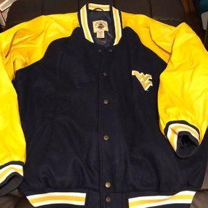 Letterman's vest Virginia jacket